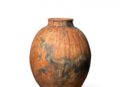 Partially Glazed Vessel