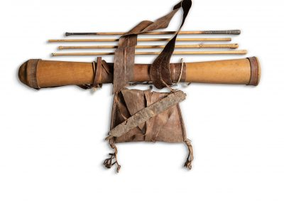 Quiver Bow and Arrows with Hunting Pouch